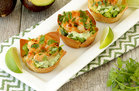 Hungry Girl's Healthy Blackened Shrimp Wonton Cups Recipe