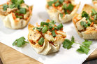Hungry Girl's Healthy Thai Oh My Chicken Wonton Cups Recipe