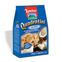 Loacker Quadratini Bite Size Wafer Cookies