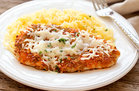 Hungry Girl's Healthy Buff Chick Parm with Spaghetti Squash Recipe