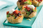 Hungry Girl's Healthy Tiny Taco Salads Recipe