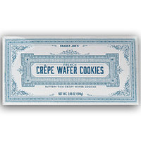 Trader Joe's French Crêpe Wafer Cookies