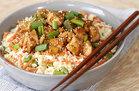 Hungry Girl's Healthy Teriyaki Chicken Cauli' Rice Bowl Recipe