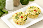 Hungry Girl's Healthy Everything Veggie Egg Bakes Recipe