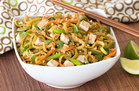 Hungry Girl's Healthy Zucchini-Noodle Pad Thai Recipe