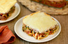 Hungry Girl's Healthy Lasagna Z'paghetti Bake Recipe