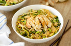 Hungry Girl's Healthy Easy-Peasy Peanut Zucchini Noodles with Chicken Recipe