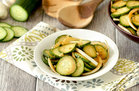 Hungry Girl's Healthy Mmmmm Marinated Cucumber Salad Recipe
