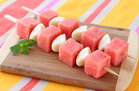 Hungry Girl's Healthy Fruity Cheese Skewers Recipe