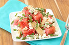 Hungry Girl's Healthy Happy Jicama Watermelon Salad Recipe