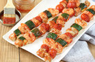 Hungry Girl's Healthy Saucy BBQ Seafood Skewers Recipe