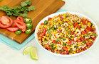 Hungry Girl's Healthy Blackened Shrimp & Corn Salad Recipe