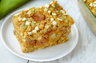 Hungry Girl's Healthy Chicken Sausage & Apple Oat Bake Recipe
