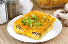 Hungry Girl's Healthy Mushroom Cheddar Egg Bake Recipe
