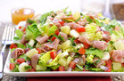 Hungry Girl's Healthy Hawaiian Pizza Salad Recipe