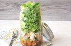 Hungry Girl's Healthy Chinese Chicken Salad in a Jar Recipe