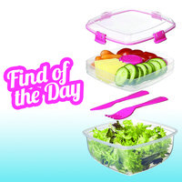 Amazon Find of the Day: Sistema To Go Collection Salad Compact Food Storage Container