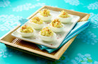 Hungry Girl's Healthy Devilish Eggs Recipe