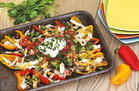 Hungry Girl's Healthy Hungry Chick' Bell Pepper Nachos Recipe
