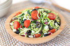 "Hungry Girl's Healthy Zucchini-Noodle ""Pasta"" Salad Recipe"