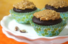 Hungry Girl's Healthy Gooey-Good German Chocolate Cupcakes Recipe