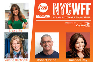 The Countdown Is On… Meet Lisa Lillien at the New York City Wine & Food Festival!