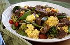 Hungry Girl's Healthy Steak 'n Eggs Stir-Fry Recipe