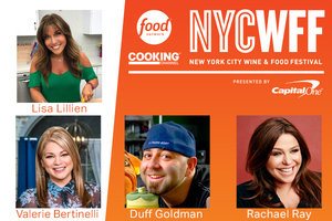 See Lisa LIVE… Less Than 2 Weeks Until the New York City Wine & Food Festival!