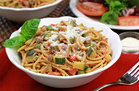 Hungry Girl's Healthy Veggie-Loaded Spaghetti Amore Recipe
