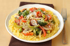 Hungry Girl's Healthy Veggie Primavera Spaghetti Squash Recipe