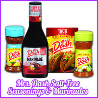 Standout Brand: Mrs. Dash Salt-Free Seasonings & Marinades