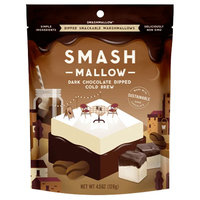 Smashmallow Dipped Snackable Marshmallows in Dark Chocolate Cold Brew