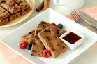 Hungry Girl's Healthy Sheet-Pan Chocolate Chip Pancake Sticks Recipe