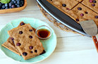 Hungry Girl's Healthy Blueberry Pancake Breakfast Bars Recipe