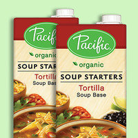7 Healthy Snacks with 70 Calories or Less: Pacific Organic Tortilla Soup Base