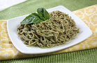 Hungry Girl's Healthy Simply the Pesto Spaghetti Recipe