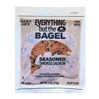 Trader Joe's Everything but the Bagel Seasoned Smoked Salmon