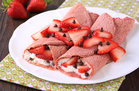 Hungry Girl's Healthy Strawberry Red Velvet Crepes Recipe