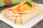 Hungry Girl's Healthy Tropical Fruit Crepess Recipe