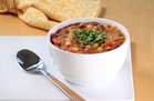 Hungry Girl's Healthy Southwest Bean & Corn Soup Recipe
