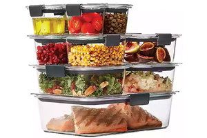 Rubbermaid Brilliance 22-Piece Food Storage Container Set