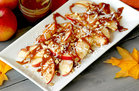 Hungry Girl's Healthy Caramel Apple Nachos Recipe