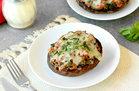 Hungry Girl's Healthy Lasagna Stuffed Portabellas Recipe