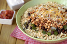 Hungry Girl's Healthy So-Good Sofritas Cauliflower Rice Bowl Recipe