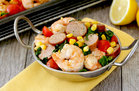 Hungry Girl's Healthy Sheet-Pan Shrimp Bake Recipe