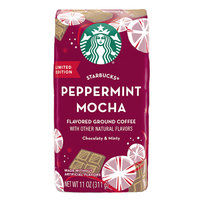 Starbucks Limited Edition Peppermint Mocha Flavored Ground Coffee