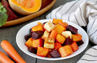 Hungry Girl's Healthy Roasted Root Veggie Power Hour Recipe