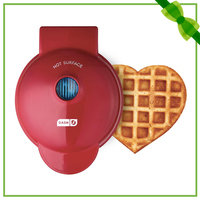 Dash Heart-Shaped Mini Waffle Maker