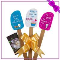 Perfect and Simple 3-Piece Fun Silicone Spatula Gift Set