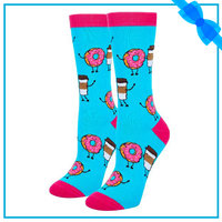 HAPPYPOP Women's Novelty Food Socks